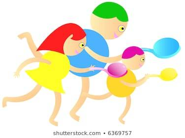 Egg and spoon race clipart 2 » Clipart Portal.