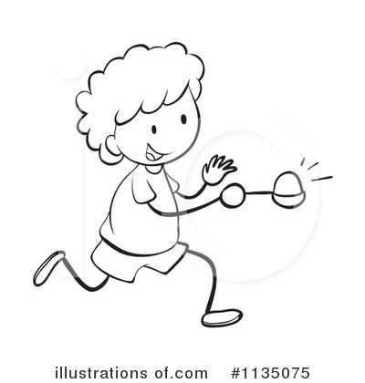 Egg And Spoon Race Clipart #1135075.