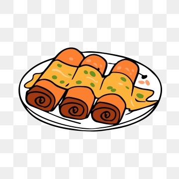 Egg Roll Png, Vector, PSD, and Clipart With Transparent Background.
