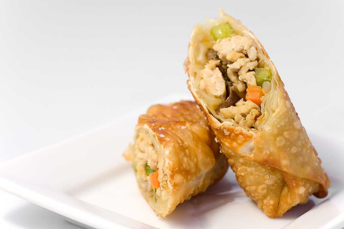 Chicken Egg Rolls Recipe.