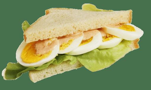 Egg Sandwich transparent PNG.