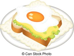 Fried egg toast Vector Clip Art EPS Images. 532 Fried egg toast.