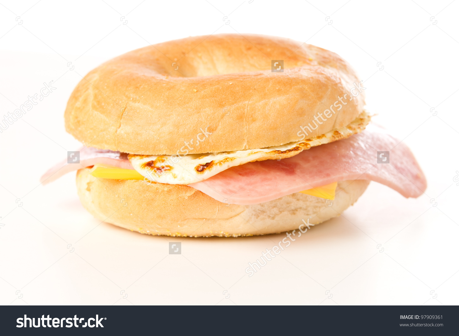Egg Sandwich This Photo Delicious Egg Stock Photo 97909361.