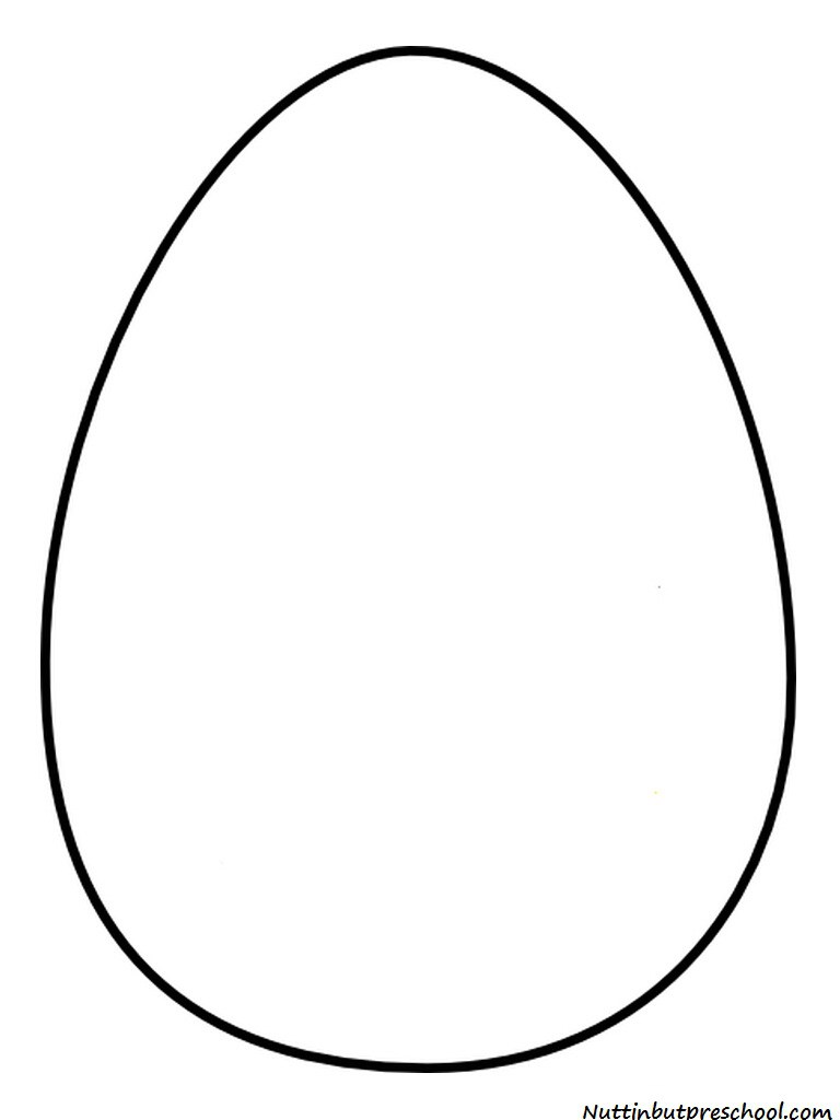 Large easter egg clipart.