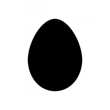 Egg Shape PNG Images.