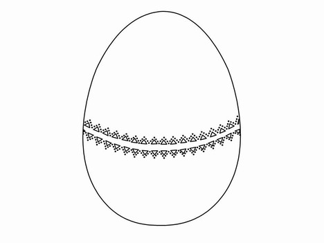 Images of Easter Egg Shape.