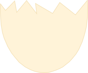 Egg shell clipart.