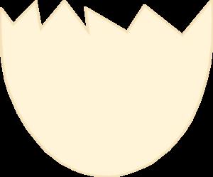 Egg shell clipart.