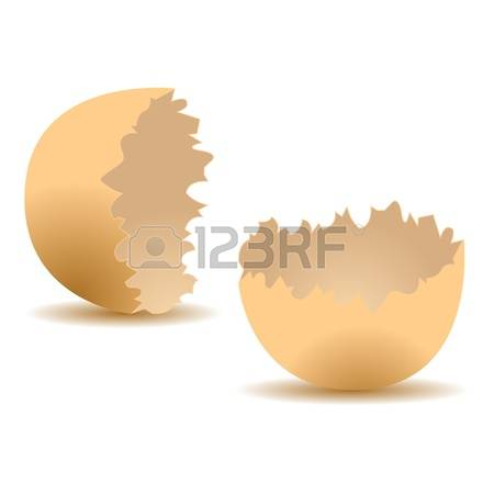 954 Cracked Egg Stock Vector Illustration And Royalty Free Cracked.