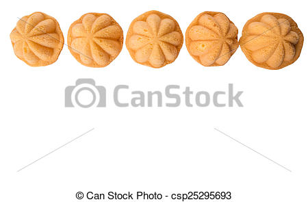 Stock Photographs of Malay Kuih Bahulu.