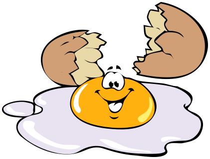sunny side up egg.