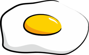 Egg Sunny Side Up clip art.