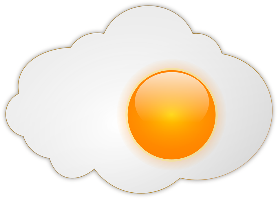 Free vector graphic: Egg Sunny.