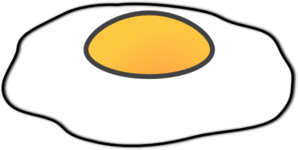 Eggs Sunny Side Up.