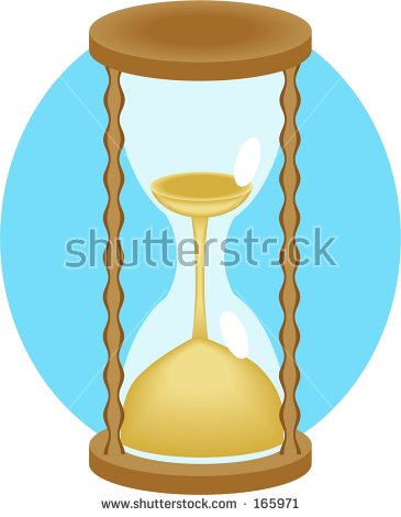 Egg Timer Cartoon Stock Illustration 108914369.