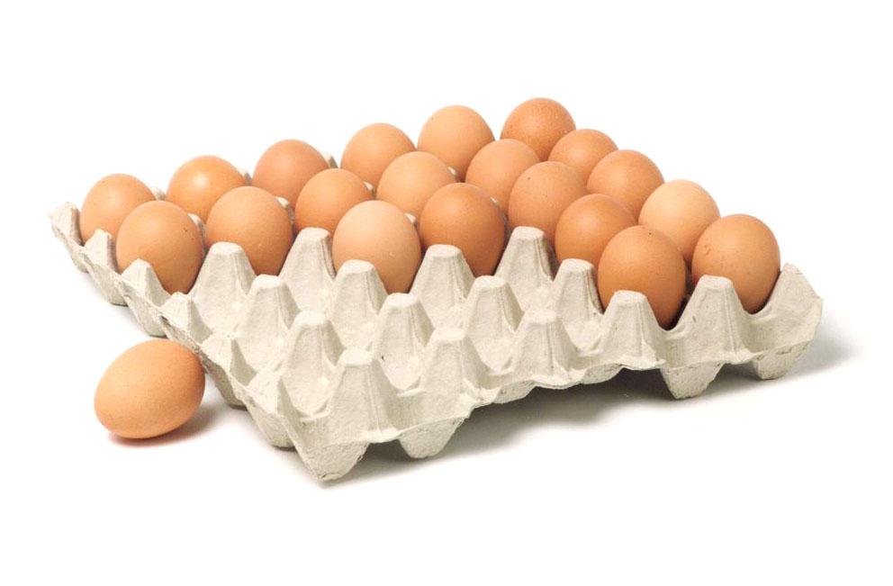 The Huhtamaki egg trays for optimum egg protection.