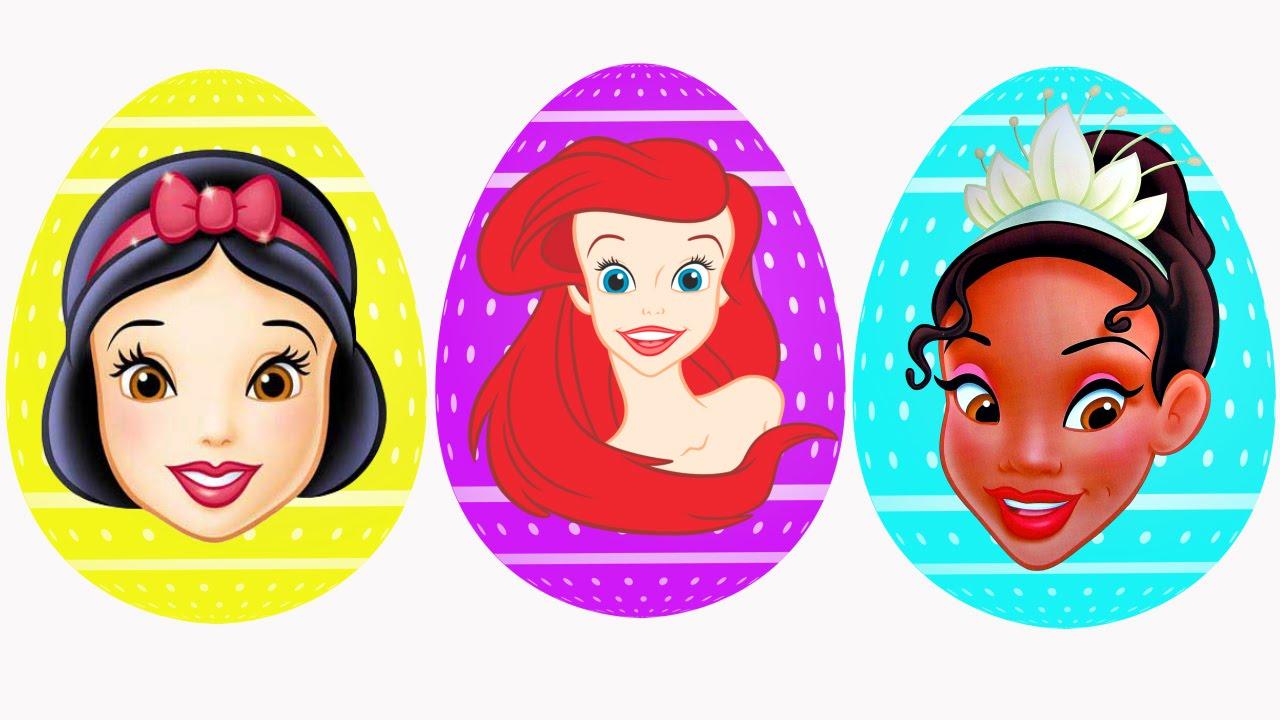 Disney Princess BIGGEST Surprise Egg Episodes ✿ Play Doh Ariel.
