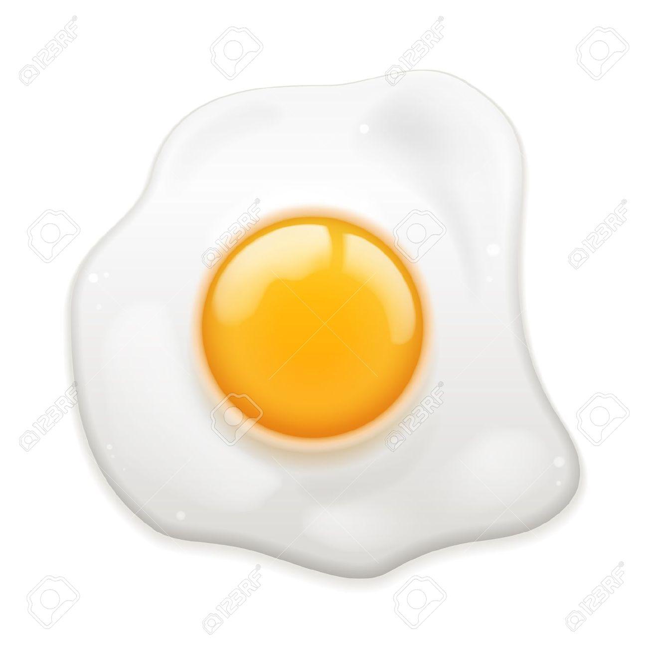 Easter egg yolk clipart.