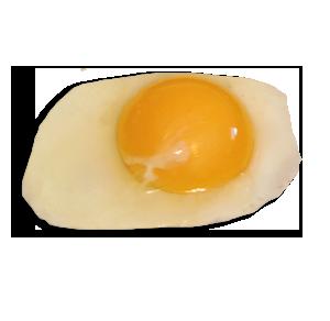Egg yolk,Egg white,Dish,Food,Fried egg,Egg,Ingredient,Cuisine.