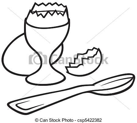 Vector Illustration of Eggcup.