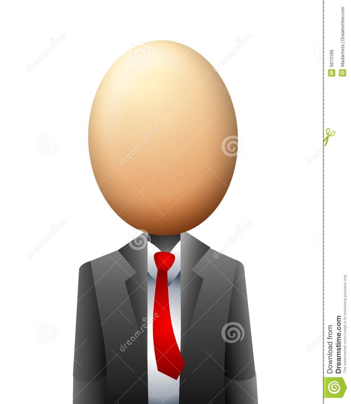 Egghead clipart.