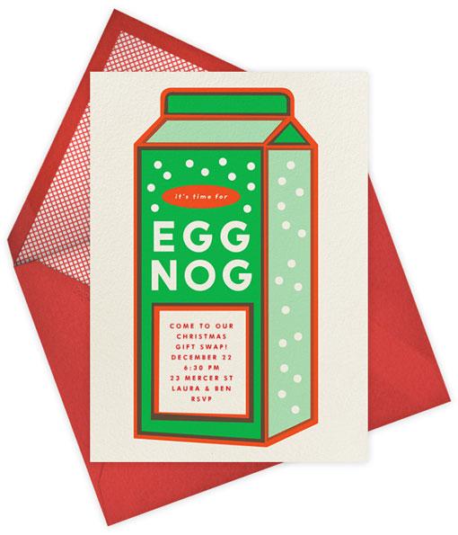 Eggnog Clipart.