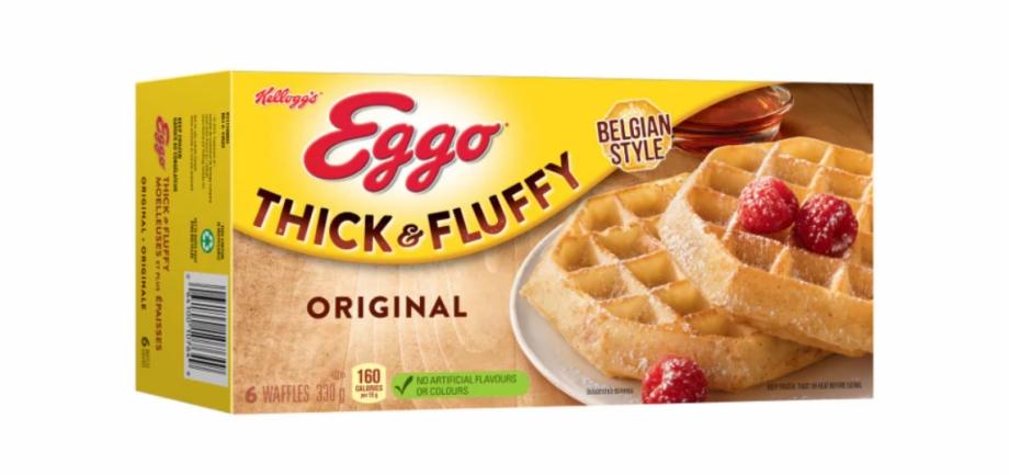 Eggo Waffles, Transparent Png Download For Free #1845781.