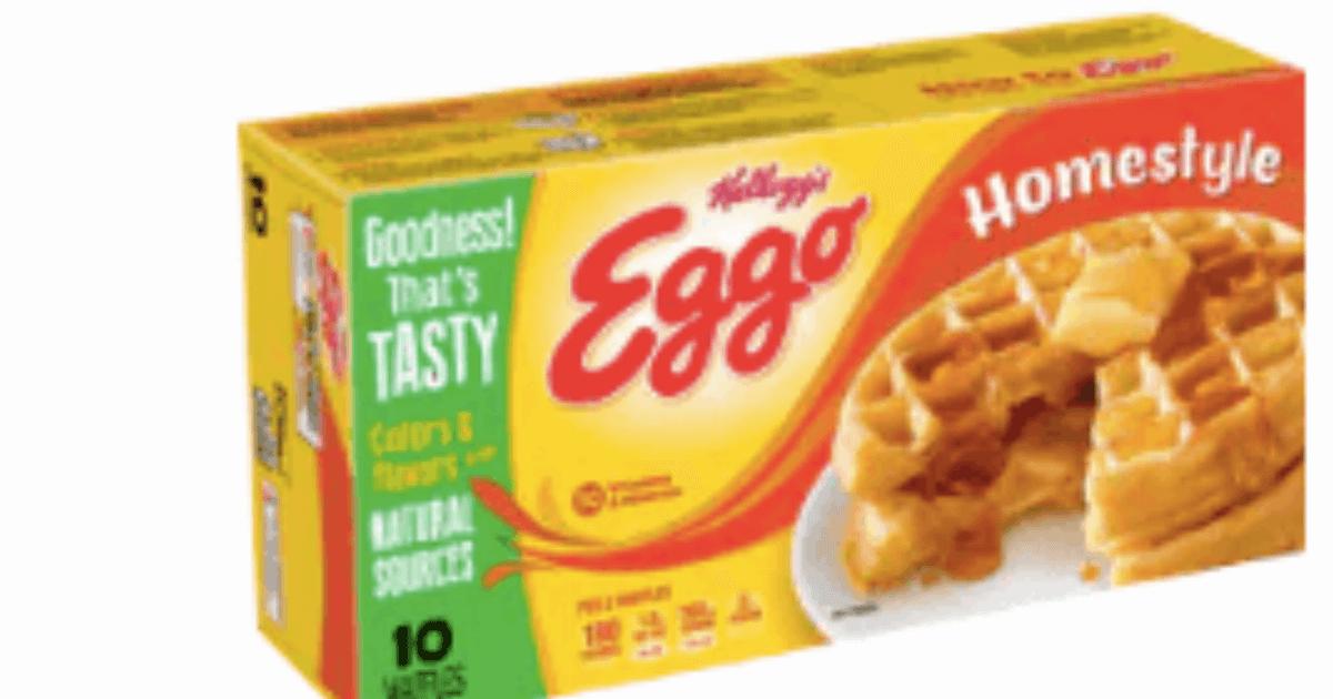 A Definitive Ranking of Eggo Waffles Flavors.