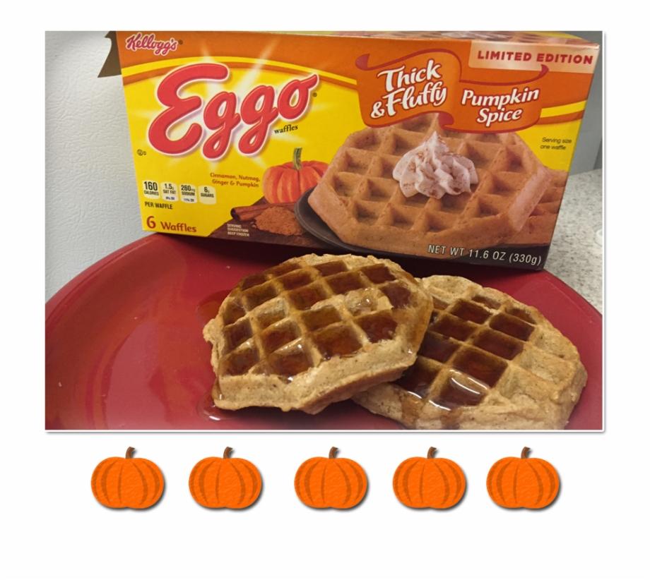 Eggo Pumpkin Spice Waffles.