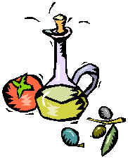 Greek Food Clipart.