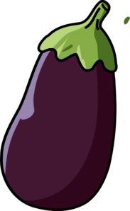 Eggplant Clip Art at Clker.com.