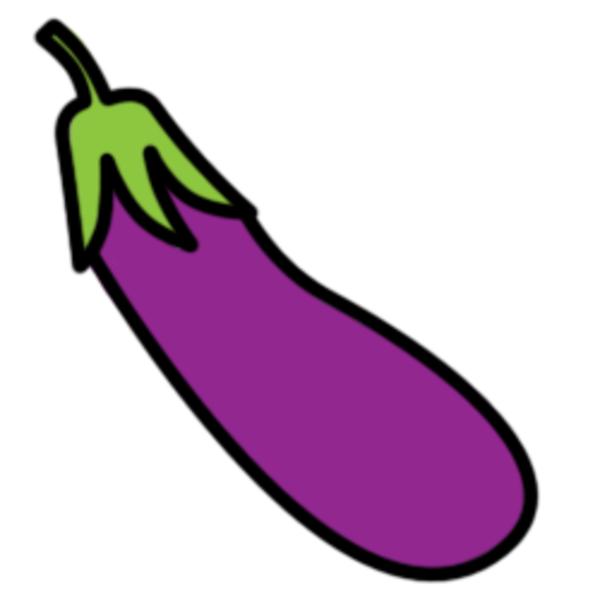 Eggplant Clipart.