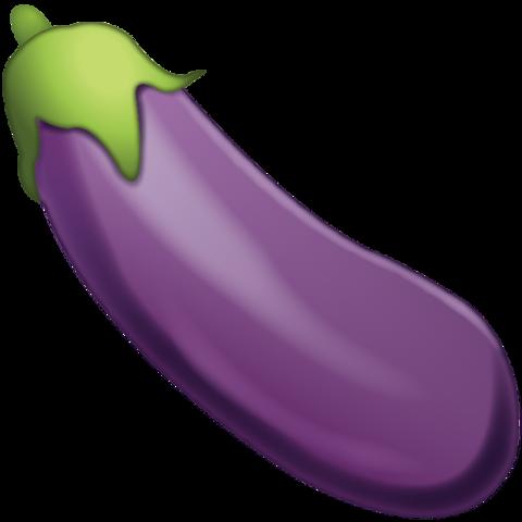 Eggplant Emoji.