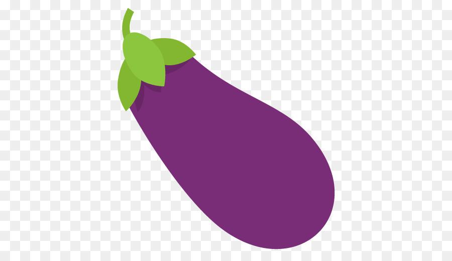 Eggplant Emoji clipart.
