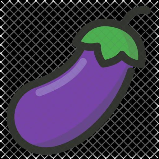 Eggplant Icon #36654.