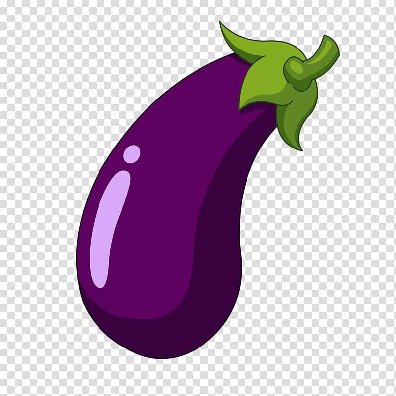 Eggplant illustration, Eggplant Cartoon , Purple eggplant.
