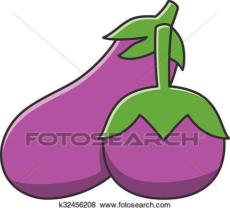 Eggplant Clip Art.