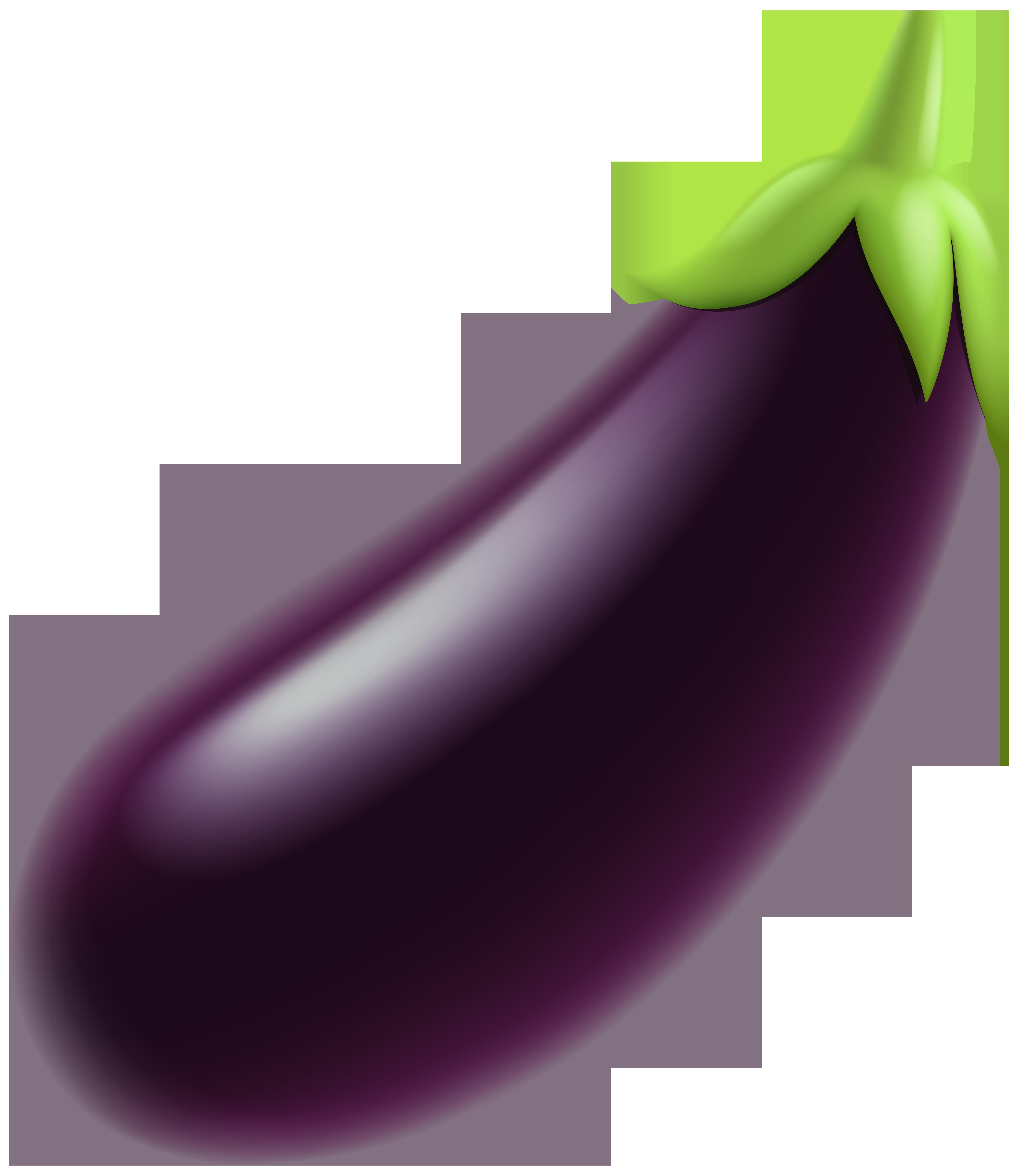 Eggplant PNG Clip Art.