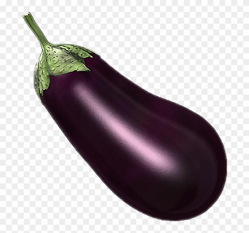 Eggplant Sticker.
