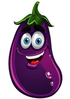 Eggplant Cliparts.