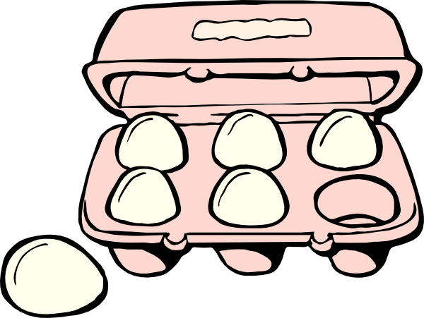 Breakfast Eggs Clipart.