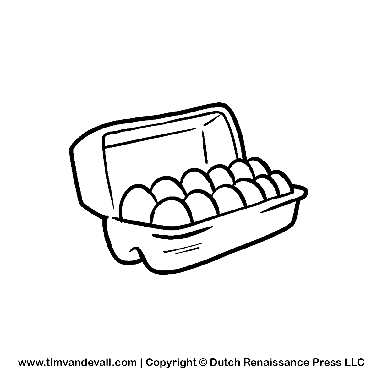 Eggs clipart black and white 5 » Clipart Station.