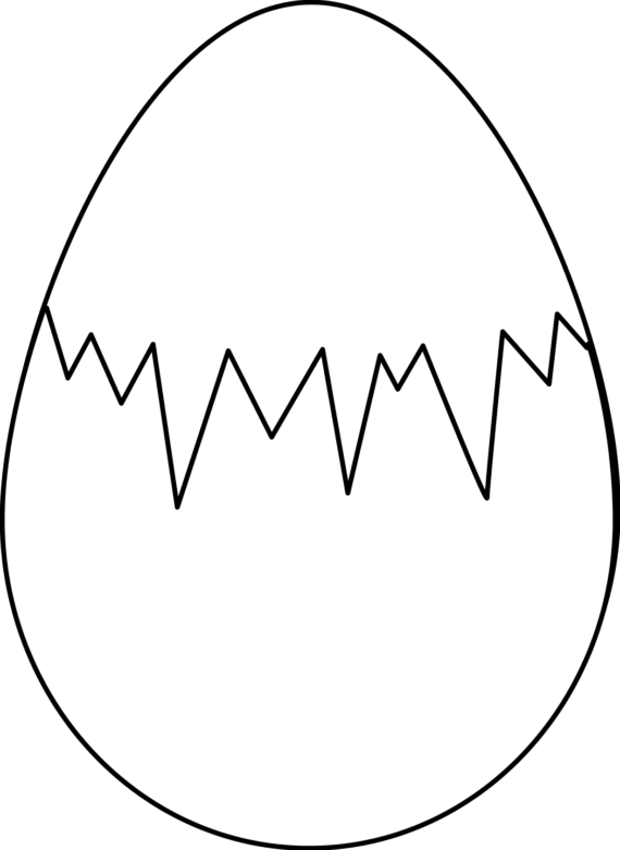 Free egg clipart black and white food clip art.