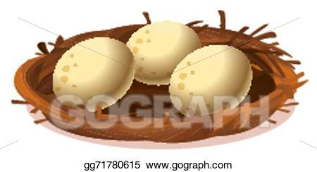Eggs in the nest clipart 2 » Clipart Portal.