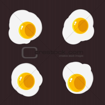 Image 1008724: Sunny Side Up Eggs from Crestock Stock Photos.