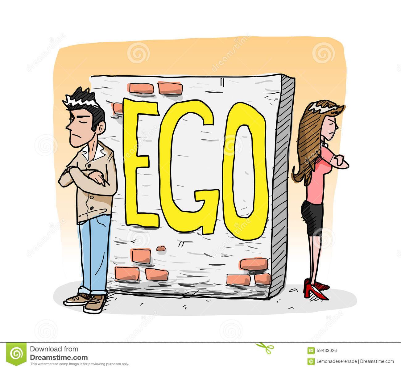 Egocentric Stock Illustrations.