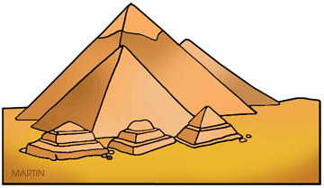 Free Ancient Egypt Clip Art by Phillip Martin.