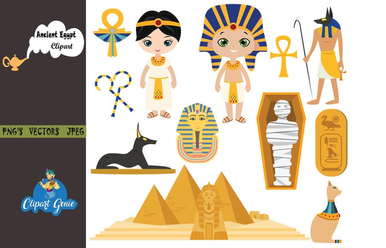 Egypt clipart, egypt clip art, Ancient egypt clipart, Egyptian clip art,  Travel clipart, Pharaoh Pyramids, egyptian download, egypt svg.