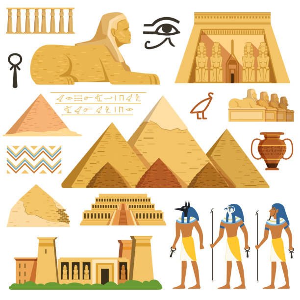 Best Egyptian Pyramid Illustrations, Royalty.
