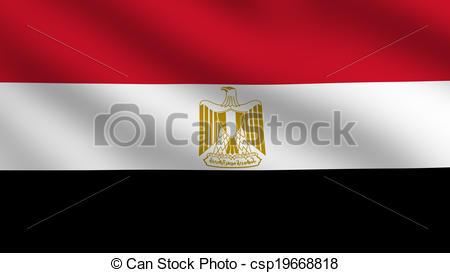 Egypt Flag.
